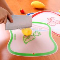 Resin Large scrub classification cutting board fruit cutting board transparent cutting board slip-resistant  antibiotic