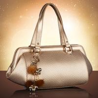 Cowhide women's handbag luxury commercial portable women's bags dinner quality shoulder bag