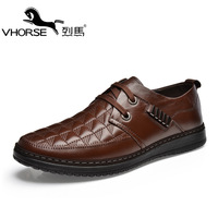 Male daily casual leather male fashion genuine leather skateboarding shoes fashion shoes breathable male shoes