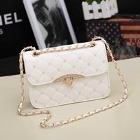 Trend women's handbag dimond 2014 plaid fashion female chain small bags women's one shoulder cross-body