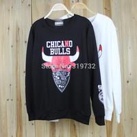 New 2014 fashion casual women men Unisex sport hoody Autumn winter hip-hop bull 23 lovers 100% cotton sweatshirt Free Shipping