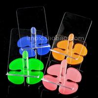 Plum blossom type mobile phone holder mobile phone display rack cell phone holder mobile phone holder acrylic mobile phone