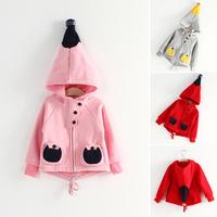 2014 children's spring and autumn clothing magic hat male female child baby long-sleeve sweatshirt