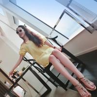 Viscose linen mfhk - givlie one-piece dress