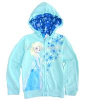 Retail new Frozen Children/Kids/girls Autumn clothing Coat /Jacket / cotton zipper outerwear hoodie/Sweatshirts(6 to 16 years)