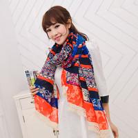 2014 New fashion scarf spring autumn scarf bohemia national trend scarf