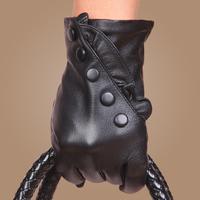 2013 Fashion Winter Women Genuine Leather Gloves Mittens Women's Gloves
