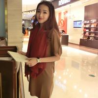 Mfhk - luxury cotton elegant knitted one-piece dress