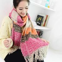 Women's scarf winter warm wrap fashion thick knitted muffler