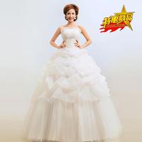 2014 New Arrival Cheaper Wedding Dress Off The Shoulder Floor Length Bridesmaid Dress BK
