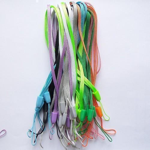 High Quality Pine Nuts Rope Short lanyard U disk MP3 lanyard mobile phone hang rope Nylon lanyard wrist on the rope(China (Mainland))