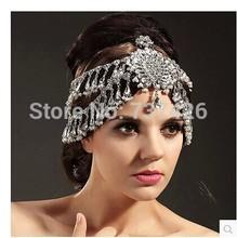 WP002 Oversized luxury rhinestone  bride hair accessory marriage wedding handmade accessories