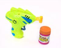 Bubble gun manual child bubble toy modern machine gun style