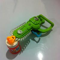 Toy electric saw bubble gun bubble no battery