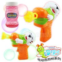 Electric semi automatic child bubble gun 8 graphic patterns cartoon animal toy bubble machine bubble toy