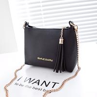 Fashion fashion 2014  tassel chain bag messenger bag day clutch small cross-body bag women's handbag