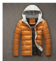 Good quality men's fashion down jacket thick warm winter coat big yards coat jacket free shipping