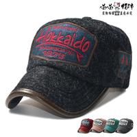 2014 New Style Men's Fashion Baseball Caps Letter Design Winter Cashmere Snap Backs Hats For Women High Quality Golf Sun Hat.