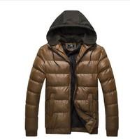 Good quality men's winter jacket coat thick coat jacket Free shipping M-3XL
