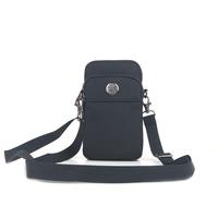 Summer small bag waterproof nylon fabric waist pack strap small bag oxford fabric mobile phone bag messenger bag