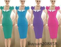 Dress for high quality fashion hot-selling elegant one-piece dress basic slim hip sexy dress