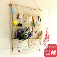 Japanese style 1 fluid storage cloth bag door storage bag after the multi-layer bag for kka za