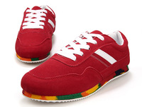New 2014 Fashion Canvas shoes lace-up sneakers sports shoes Men sneakers men skateboard shoes T5