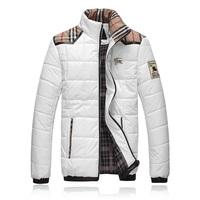 HOT! Free Shipping 2014 Men Thickening Cotton-padded Jacket Coat Big Yards Winter  Warm Wadded Jacket Quilted Jacket Male M-XXXL
