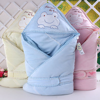 Baby parisarc spring and autumn 100% cotton newborn holds newborn baby thin blankets