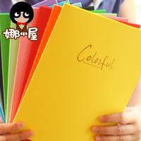 Korean Stationary Plain Color Soft Cover Notebooks