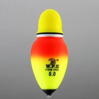 Free shipping, 5pcs/lot, Luminous  eva fishing red/green light two-color Float