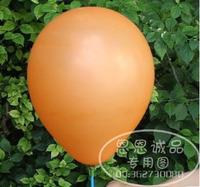 90pcs/lot Thickening orange circle pearl balloon circle balloon