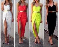 Fashion hot-selling women's 2014 suspender  slim waist slim sexy one-piece dress