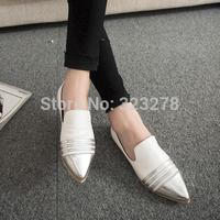 Autumn flat flats british style female shoes casual shoes brief platform shoes
