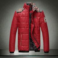 Free shipping men's fashion jacket coat big yards down jacket coat M-5XL