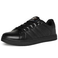 Free Shipping Male Skateboarding Shoes Black Waterproof Wear-Resistant Work Shoes Plus Size 39-48 Shoes Low-Top Sneakers