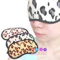 5 Pcs! Hot-selling Eyeshade Travel Sleeping Eye Mask Blindages Leopard Print