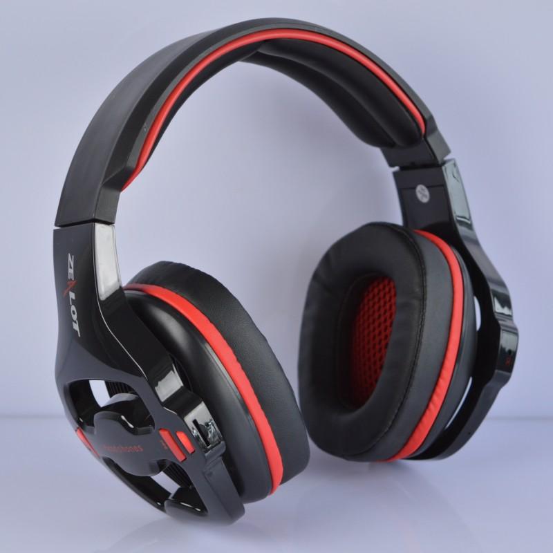 Free shipping Wireless headset Zealot z7 wireless cards earphones headset computer voice earphones gaming headset heavy bass(China (Mainland))