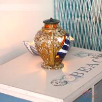 Fashion ceramic decorated home lantern mousse romantic mousse home decoration