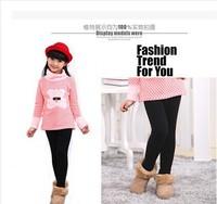 Children's Clothing   2014 Girl Legging Winter Girl Plus Velvet Thickening Leggings