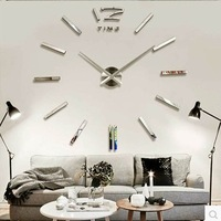 Fashion brief oversized measurement wall clock fashion pocket watch diy personalized clock