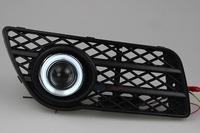09 - 12 wingle 5 angel eye spotlights the front fog lamp super bright led refires lens fog lamp assembly
