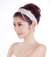 The bride hair accessory rhinestone hair band hair rope fashion marriage accessories wedding style accessories