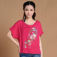 7251 # China Wind 2014 new summer shirt increase code Casual