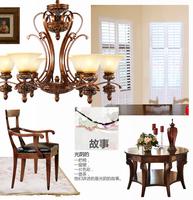 2014 Year hot sale fashion pendant light living room lights brief restaurant lights vintage bedroom lamps