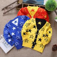 2014 autumn hot-selling baby boy clothing  jacquard  baby boy cardigan sweater 100% cotton sweater cardigan