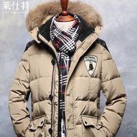 Highest quality!Men 's down jackets 2014 winter new fashion warm coats,overcoat,outwear,parka,M-XXXL