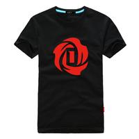 men new fashion Summer ofnanyi rose sports basketball Tshirt short sleeve romantic proposal sexy unisex  6XL 5XL plus size loose