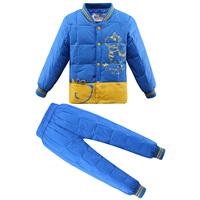 2014 child down liner set fashion male female child down coat liner set