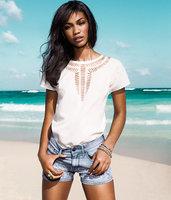 2014 Summer blouse Fashion Casual Sleeveless Shirts For Women Brand Quality o-neck sleeveless women's chiffon shirt female shirt